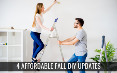 4 Affordable Fall DIY Updates